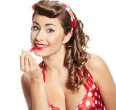 Pin-up  woman Royalty Free Stock Image