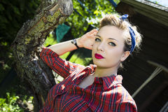 Pin-Up Royalty Free Stock Photography