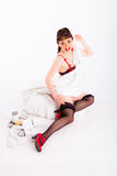 Pin-up Royalty Free Stock Images
