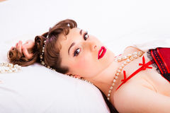 Pin-up Stock Photo