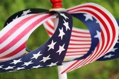 Pin Wheel Stars and Stripes Royalty Free Stock Photos
