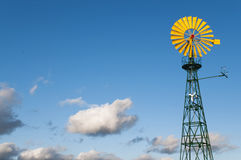 Pin wheel for using wind energy Stock Image