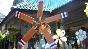 Pin wheel or windmill stock video footage