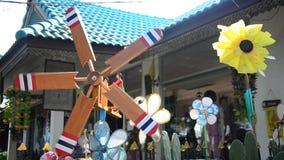 Pin wheel or windmill stock footage