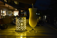 Pina-Colada鸡尾酒 库存图片