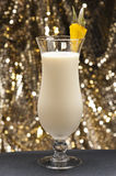 Pina Colada. In front of beautiful background royalty free stock image