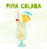 Pina Colada Cocktail illustration libre de droits
