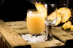 Pina Colada Cocktail Stock Afbeelding