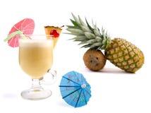 Pina Colada Cocktail Lizenzfreie Stockfotografie