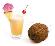 Pina Colada Cocktail stock photos