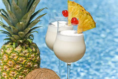 Pina Colada Cocktail Stock Image