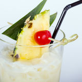 Pina colada cocktail Royalty Free Stock Photo
