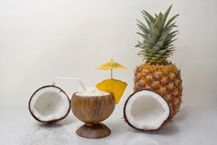 Drinks - Pina Colada Stock Photography