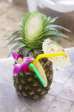 Pina colada coctail; Stock Photos