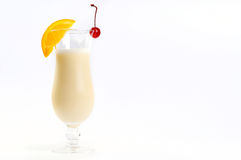 Pina Colada in a glass royalty free stock photography