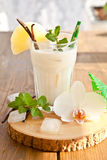 Pina Colada with pineapple Royalty Free Stock Images