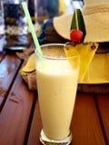 Pina Colada sin alcohol tropical foto de archivo libre de regalías