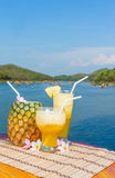 Pina Colada Smoothie Royalty Free Stock Images