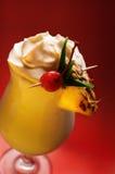 Pina Colada su colore rosso Fotografia Stock
