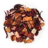 Pina Colada tea. Pina Colada raw tea isolated on pure white Stock Photography