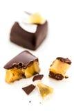 Pina colada truffle Royalty Free Stock Photos
