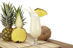 Free Pina Colada With Pineapple And Coconut Royalty Free Stock Image - 37627476