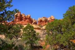 Pinacles de roche Photos stock