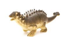 Pinacosaurus toy on white background Stock Photo