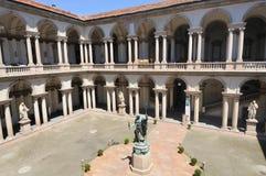 pinacoteca för breradimilan museum Royaltyfria Foton