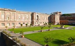 Pinacoteca Vaticana σε Βατικανό στοκ εικόνες με δικαίωμα ελεύθερης χρήσης