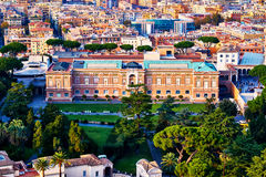 Pinacoteca Vaticana, Teil der Vatikan-Museen, innerer Vatikan stockfotos