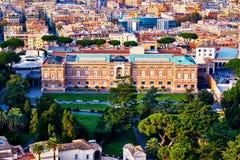 Pinacoteca Vaticana, une partie des musées de Vatican, Vatican intérieur Photos stock