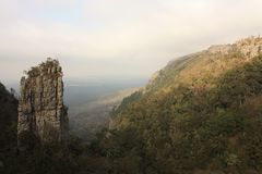 Pinakla Blyde Rzeczny jar Southafrica obrazy stock