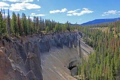 Pinakle, geological cecha w krateru Jeziornym parku narodowym, Oregon Zdjęcia Royalty Free
