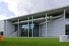 Pinakothek der Moderne in Munich, Bavaria, Germany. Pinakothek der Moderne, a modern art museum, Munich, Upper Bavaria, Bavaria, Germany, Europe Stock Photography