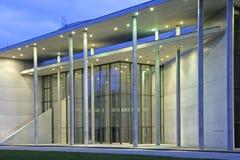 Pinakothek der Moderne in Munich, Bavaria. Pinakothek der Moderne museum at evening, Munich, Bavaria, Germany, Europe Stock Images
