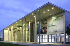 Pinakothek der Moderne in Munich, Bavaria. Pinakothek der Moderne museum at evening, Munich, Bavaria, Germany, Europe Royalty Free Stock Images