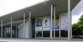 Pinakothek dera Moderne w Monachium, Bavaria, Niemcy Zdjęcie Stock