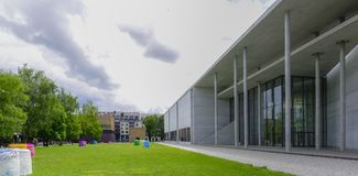 Pinakothek dera Moderne w Monachium, Bavaria, Niemcy Obrazy Royalty Free