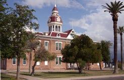 pinal здания суда графства Аризоны Стоковая Фотография
