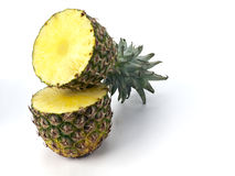 Pinapple cut in half Stock Images