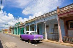 PINAR DEL里约,古巴- 2015年9月10日:街市 免版税库存图片