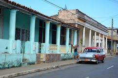 Pinar del RÃo, колониальный городок, Куба Стоковое Изображение RF