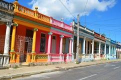 Pinar del RÃo, колониальный городок, Куба Стоковая Фотография