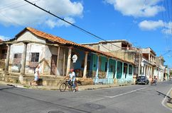 Pinar del RÃo, cidade colonial, Cuba imagens de stock
