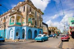 PINAR DEL RIO, CUBA - SEPTEMBER 10, 2015: Downtown Stock Image