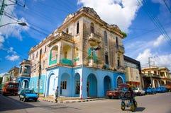 PINAR DEL RIO, CUBA - SEPTEMBER 10, 2015: Downtown Stock Images