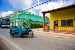 PINAR DEL RIO, CUBA - SEPTEMBER 10, 2015: Downtown Royalty Free Stock Images