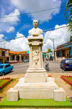 PINAR DEL RIO, CUBA - SEPTEMBER 10, 2015: Downtown Royalty Free Stock Photos