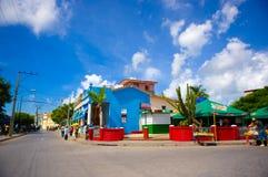 PINAR DEL RIO, CUBA - SEPTEMBER 10, 2015: Downtown Royalty Free Stock Image